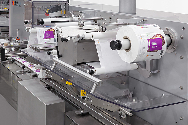 Quick and easy format changeover means very flexible, efficient production