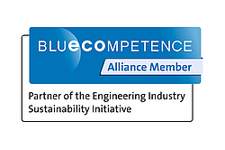 [Translate to Russisch:] BlueCompetence is a partner of LoeschPack