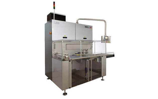 Packaging machine LSB buffering and feeding system