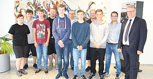 New trainees welcomed by LoeschPack and Hastamat