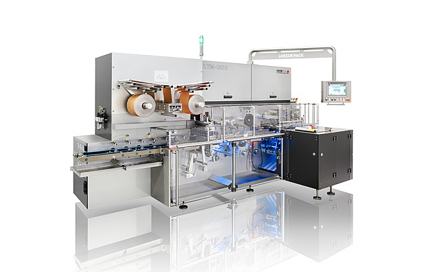 Packaging machine LTM-DUO fold wrapping reflection