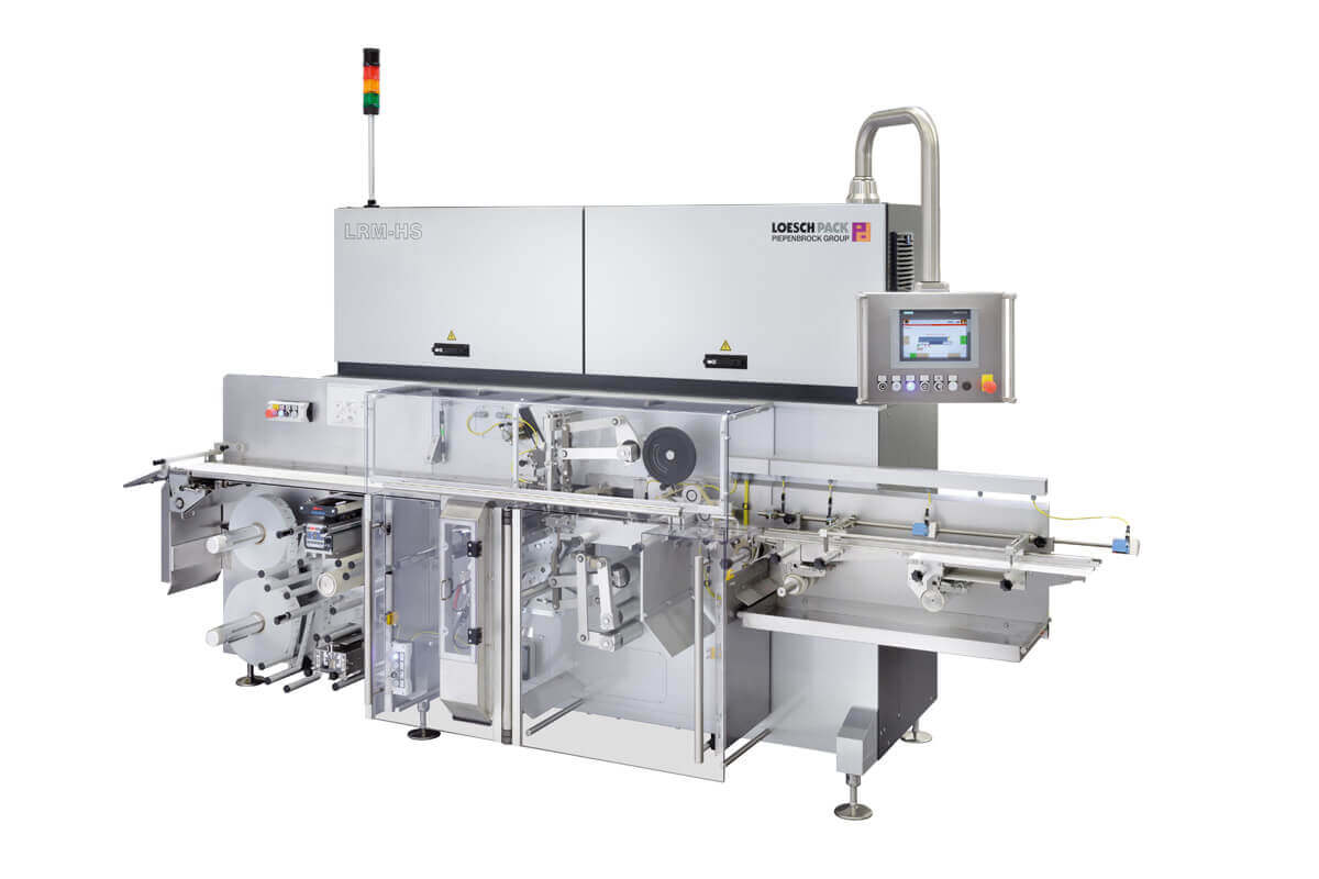 Fold wrapping machine LRM-HS for hermetically sealed/air tight chocolate
