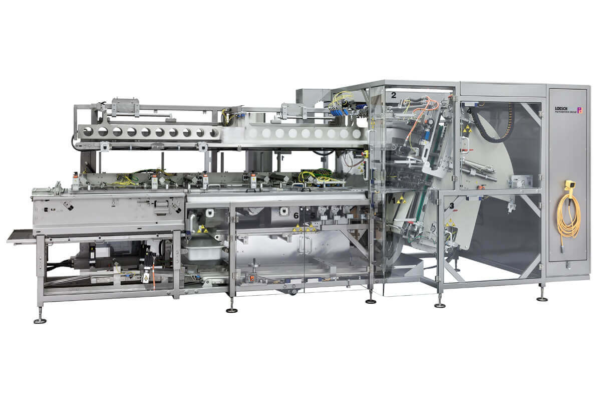 Packaging machine LOKEM tray loading system